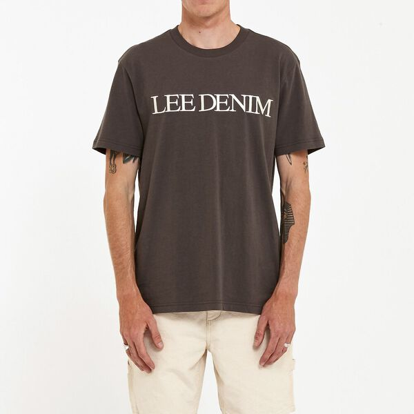 Lee Denim Tee Slate