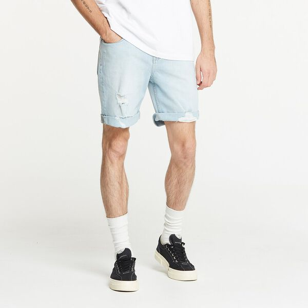 L-Two Short Primavera Blue