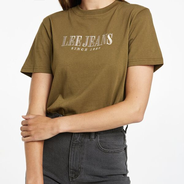 Classic Tee Recycled Cotton, Dark Moss, hi-res