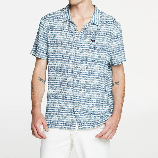 BRUSH STROKE SHIRT WHITE