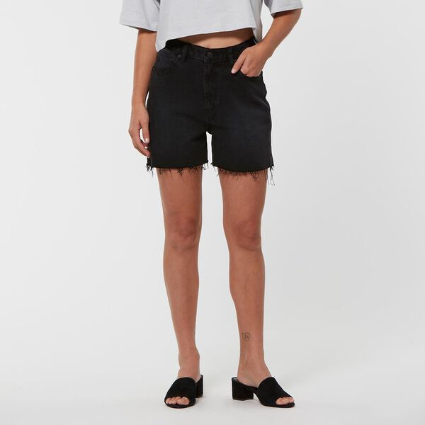 HIGH RELAXED SHORT AVID BLACK