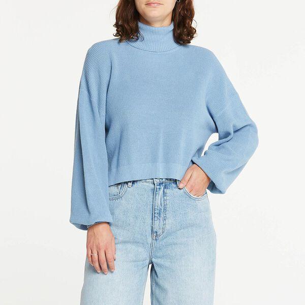 Belle Knit 90'S Blue