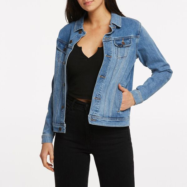 BOYFRIEND JACKET STUDIO BLUE