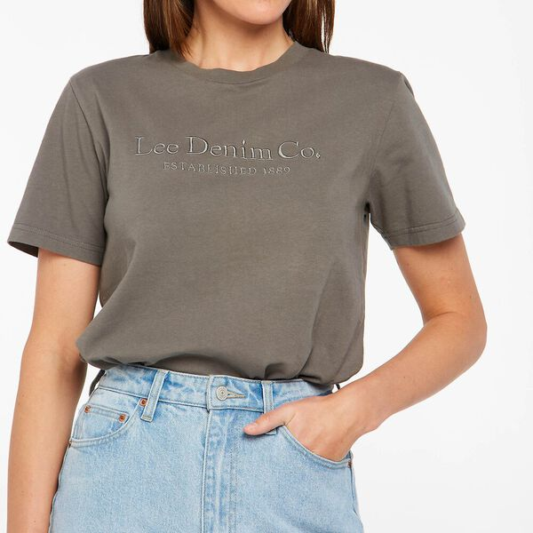 Classic Recycled Cotton Tee, Slate, hi-res