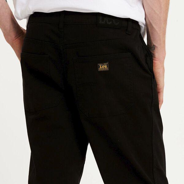 Z-Square Drill Pant Washed Black, Washed Black, hi-res