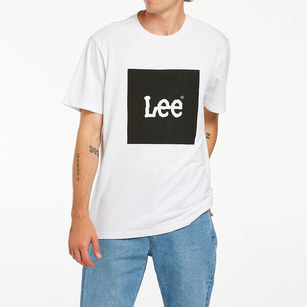 Lee Squared Tee Black