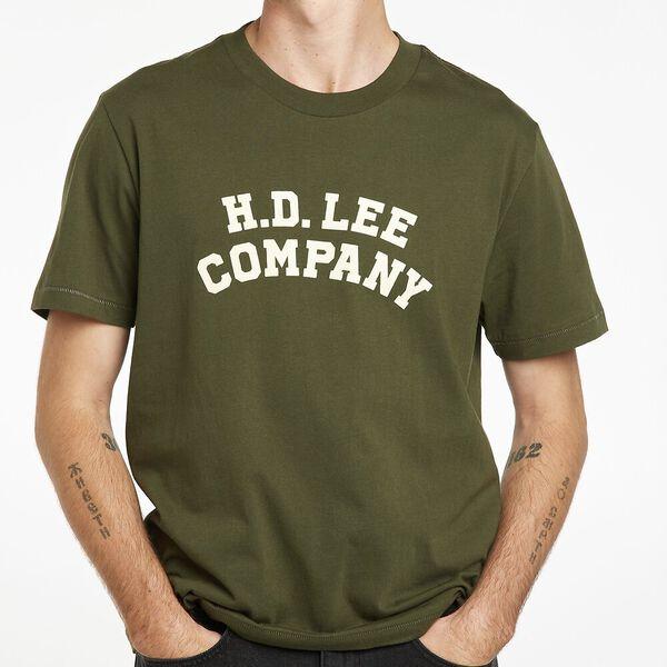 Lee Company Logo Tee, Army Green, hi-res