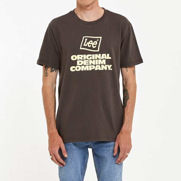 Lee Soju Tee Washed Black