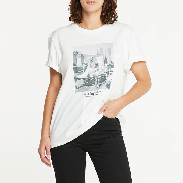 Relaxed Tee Boot Scoot