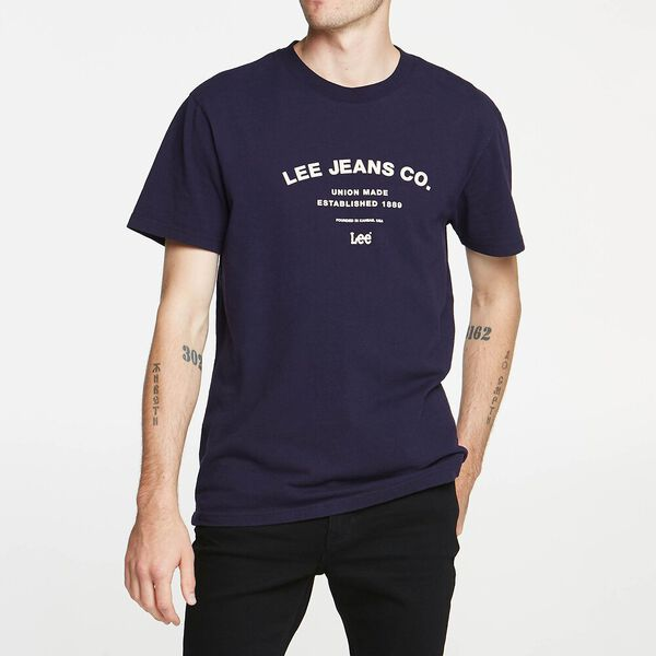 Union Made Tee Indigo