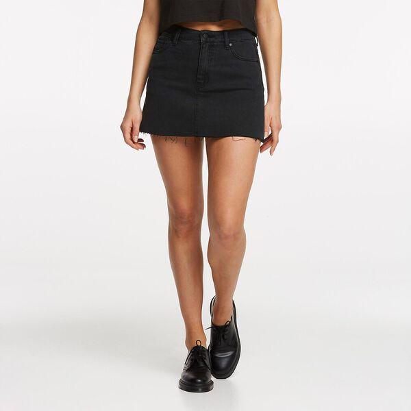 Lola Skirt Lunar Black