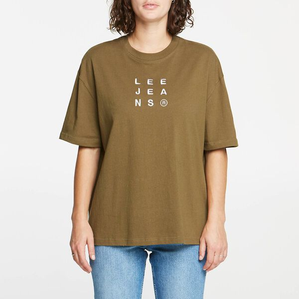 Baggy Tee Olive