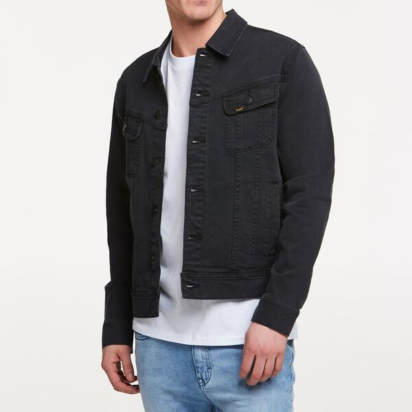 101 DENIM JACKET LUNAR BLACK