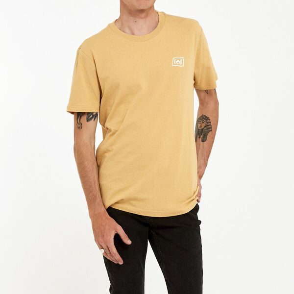 Lee Flag Tee Tan