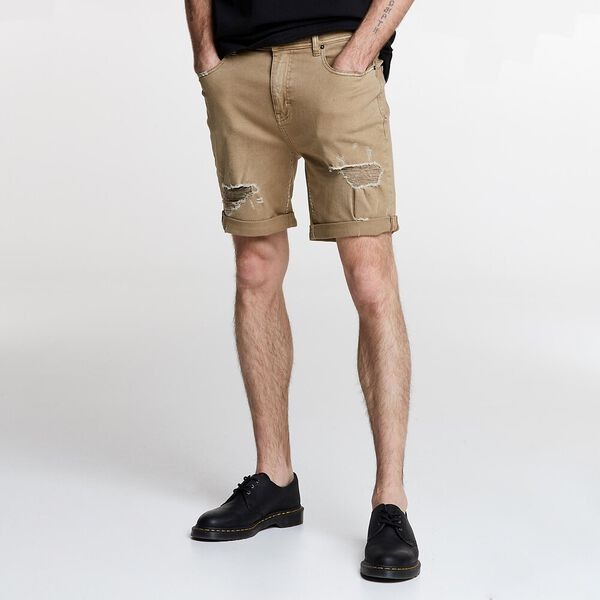 Z-Roadie Short Tan Destroy