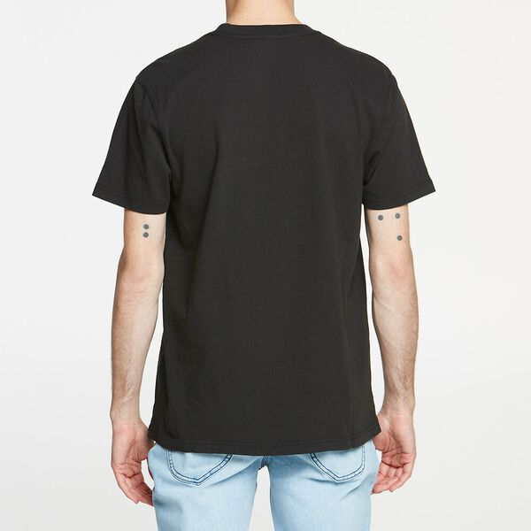 UNION MADE TEE WASHED BLACK, WASHED BLACK, hi-res