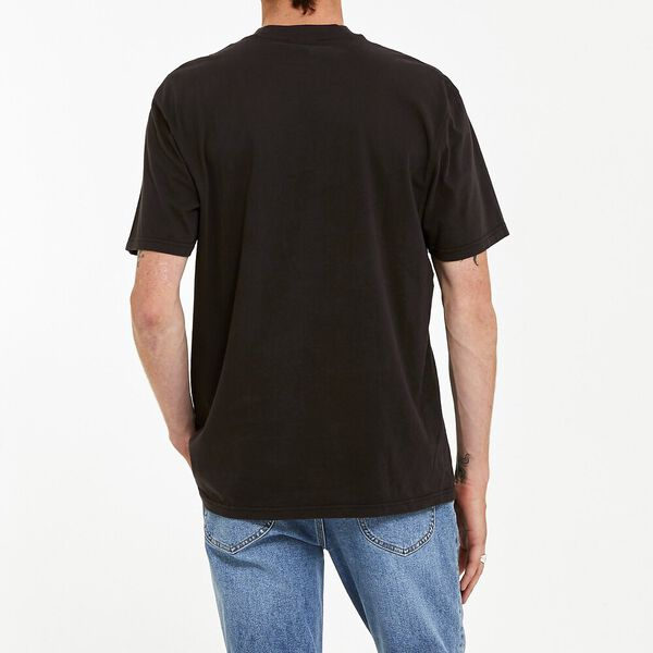 Beached As Tee Faded Black, Faded Black, hi-res