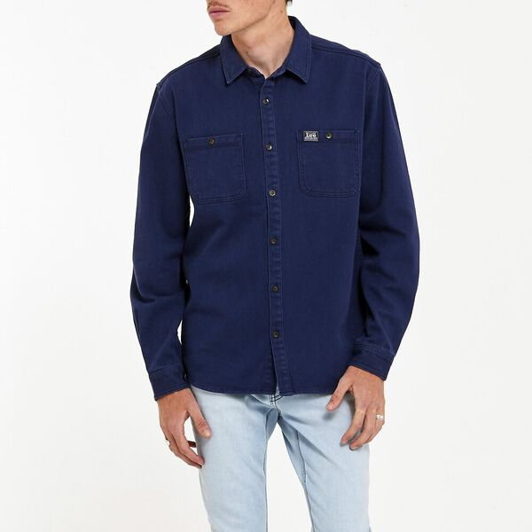 Worker Shirt Union Blue